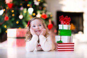 Holiday child