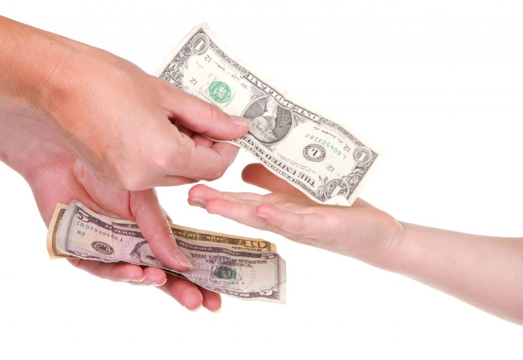 should pocket money be given to teenagers