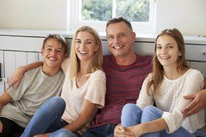 Parents with teenage children